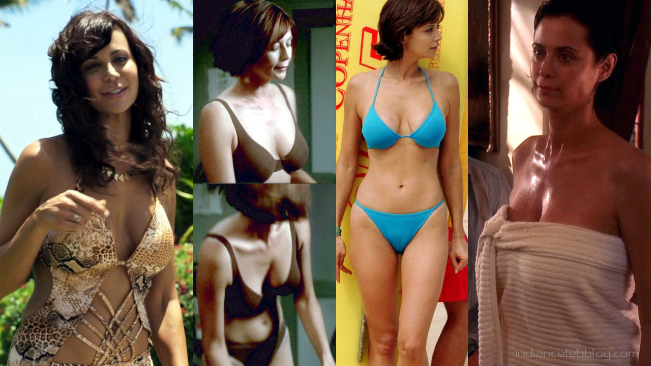 Catherine bell Jag actress hot bikini scenes hd screencaps pics