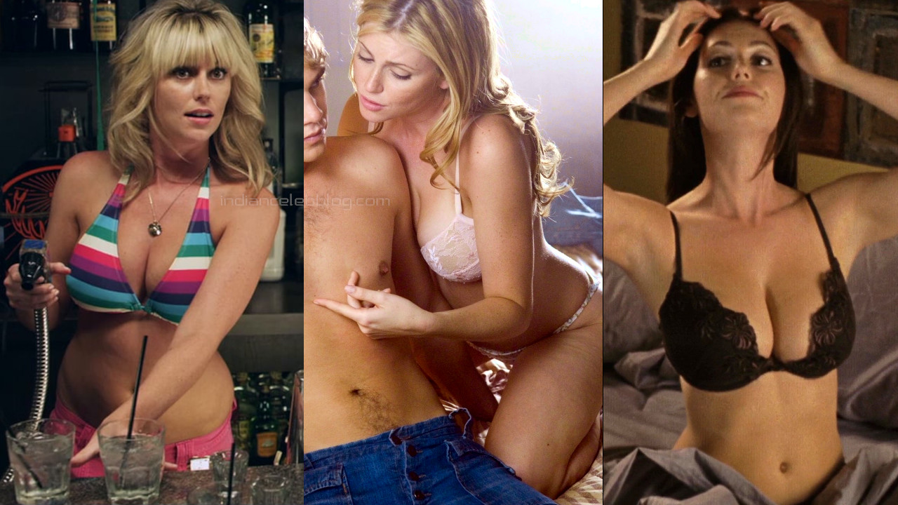 Diora baird american actress hot lingerie bikini pics screencaps