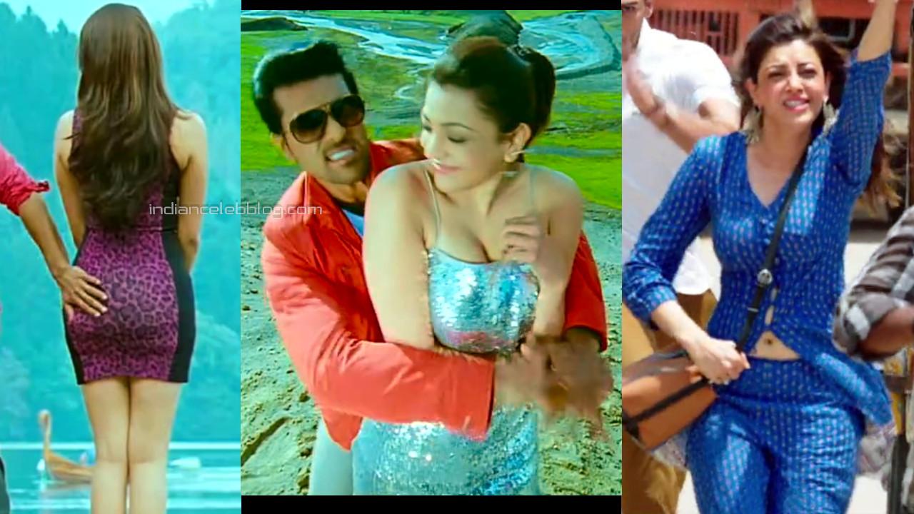 Kajal agarwal telugu actress hot pics hd song caps