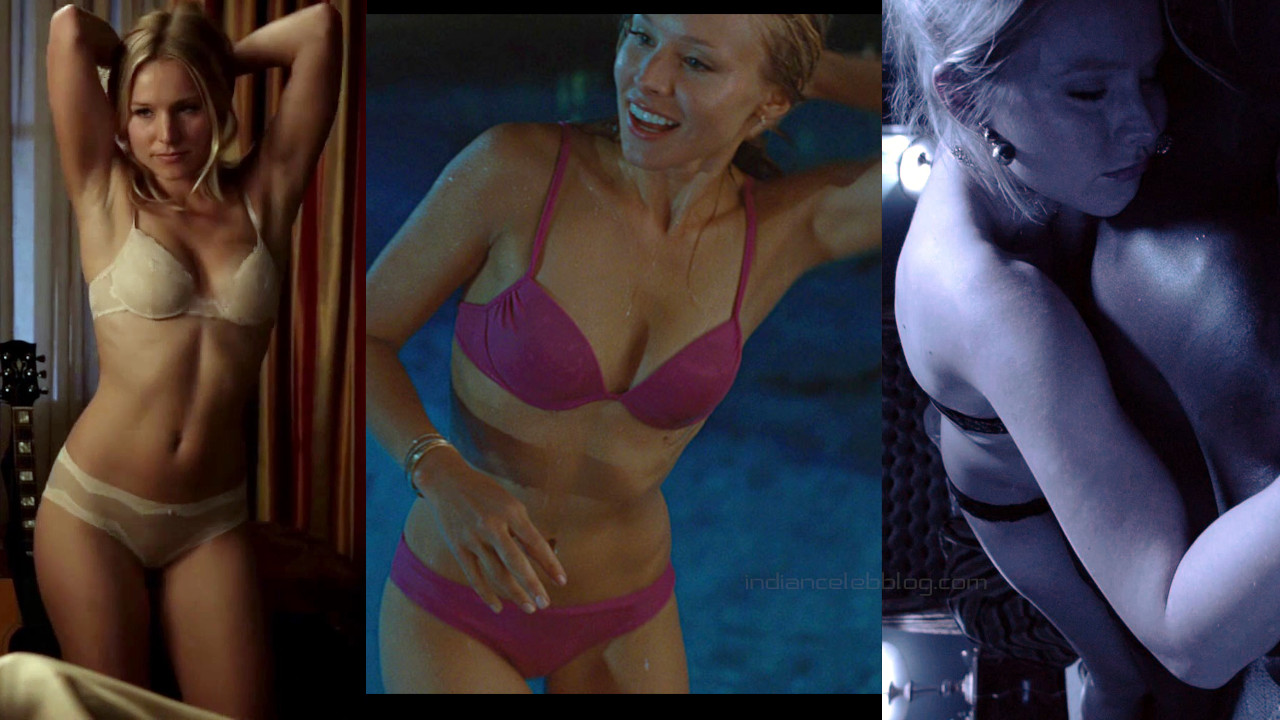 Kristen bell hollywood actress hot lingerie bikini photos screencaps