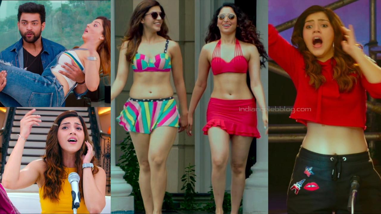 Mehreen pirzada telugu actress hot bikini photos hd caps