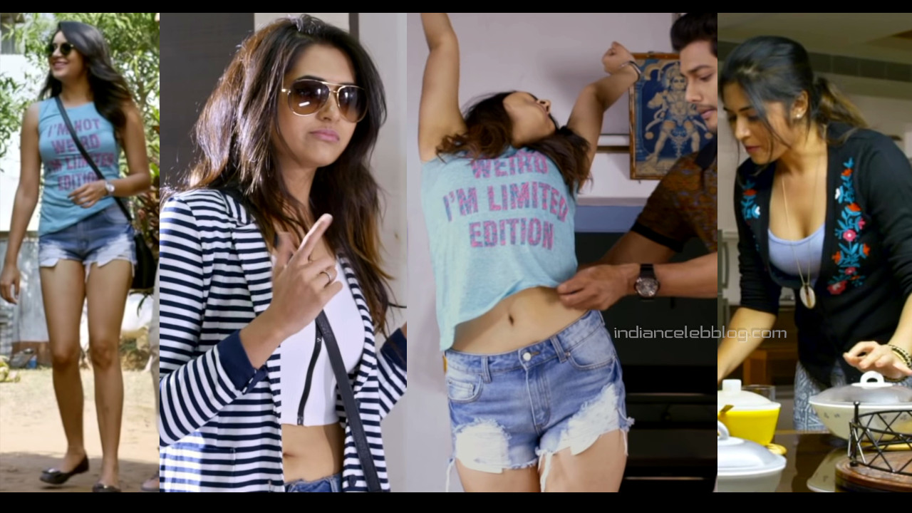 Vyoma nandi telugu actress hot legs thighs show pics hd caps
