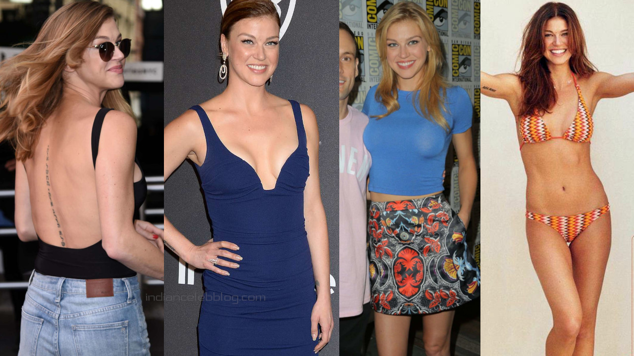 Adrianne palicki hollywood actress hot Red carpet n Candid Photos