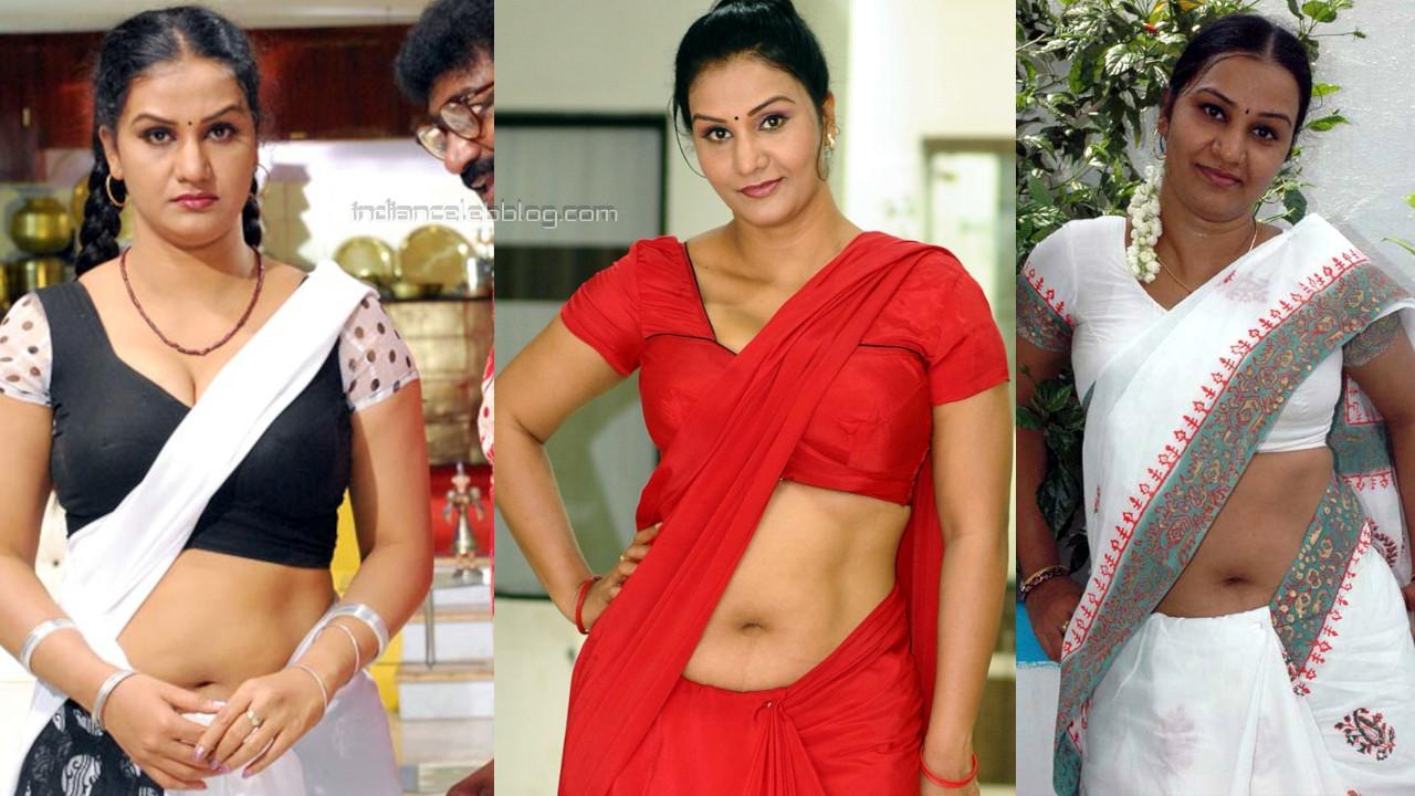 Apoorva telugu character actress hot sexy saree photos stills