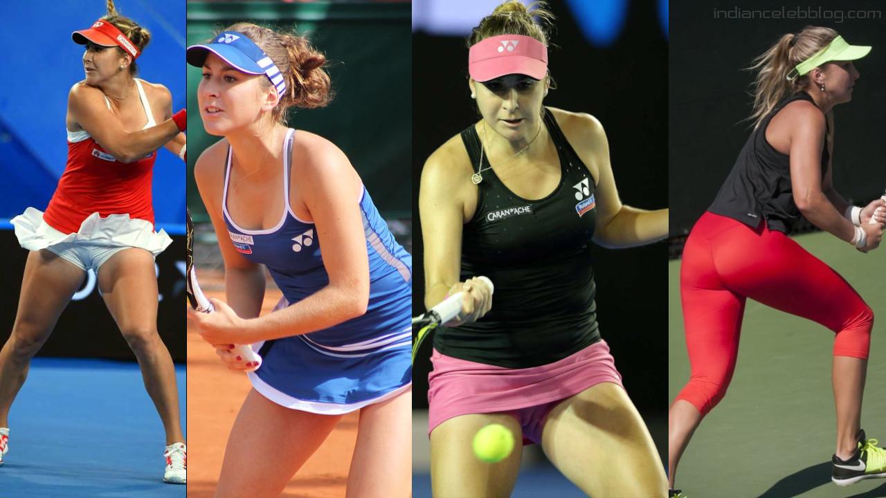 Belinda bencic swiss tennis player match photos stills