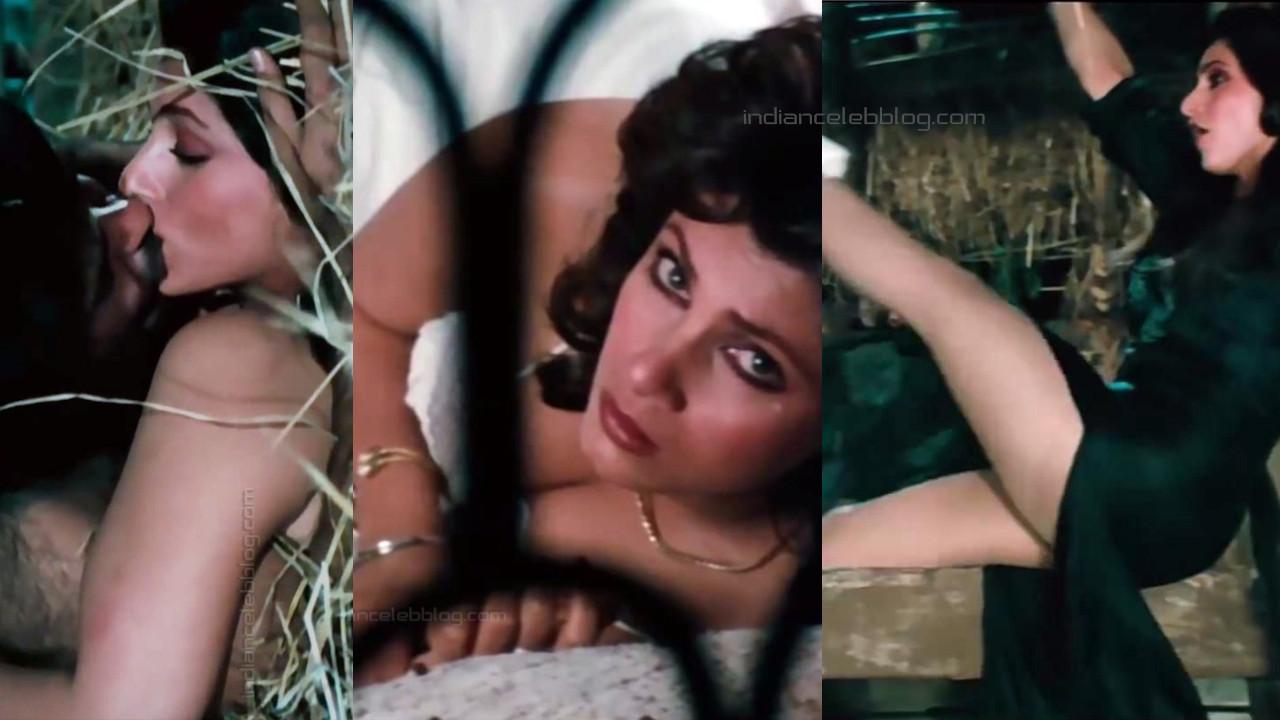 Dimple kapadia bollywood actress hot romance liplock Video