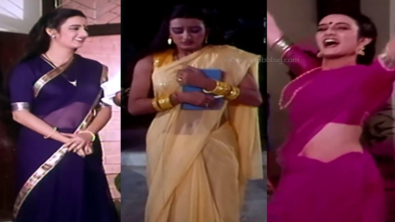 Farah naaz bollywood actress hot saree caps pics