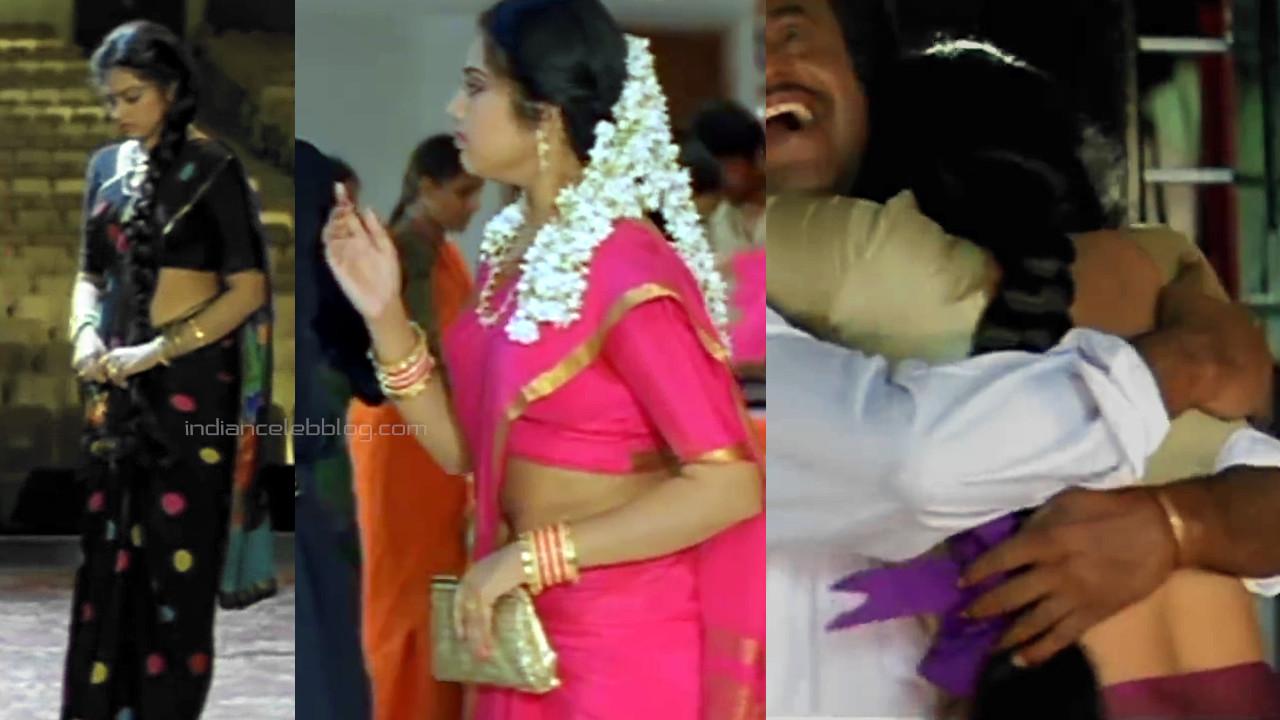 Meena kollywood actress hot saree navel scenes - Video