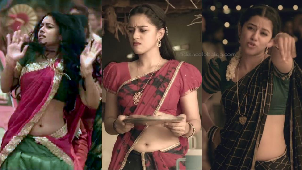 Mirnalini ravi telugu film actress sexy sari navel Video