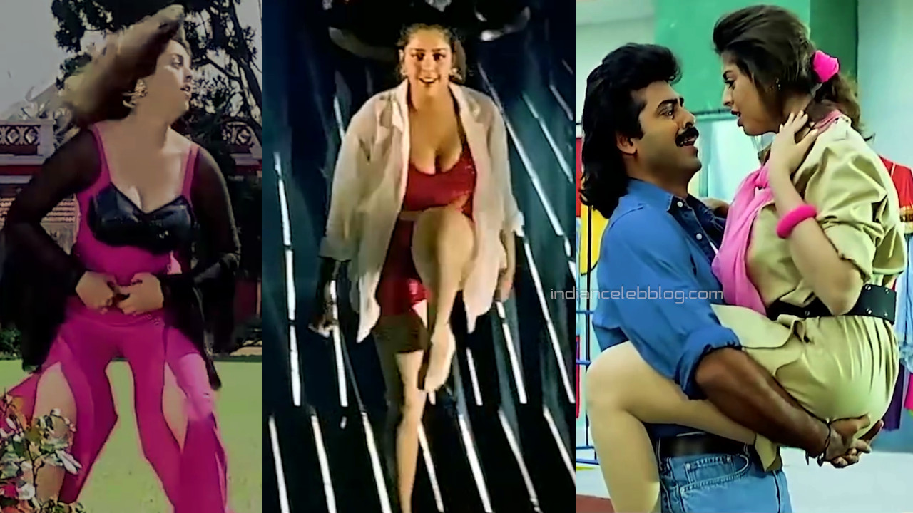 Nagma telugu actress sexy cleavage show Video