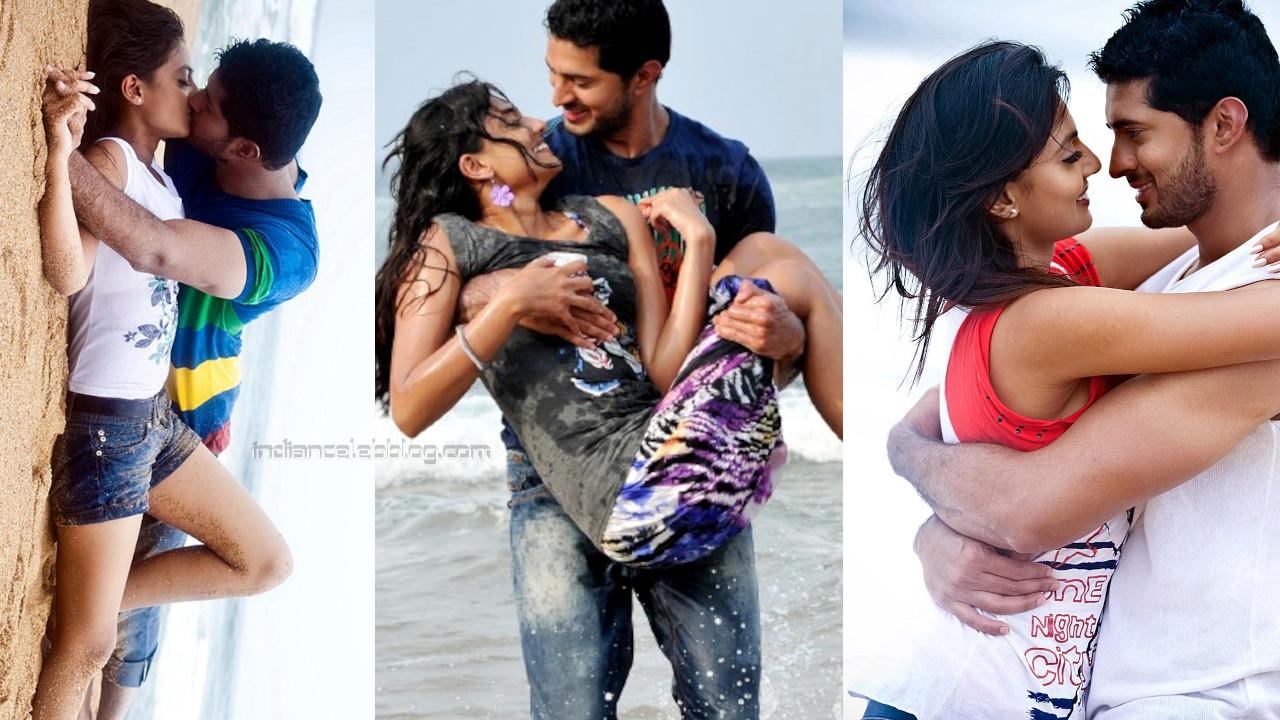 Nikitha narayan telugu actress hot liplock spicy stills photos