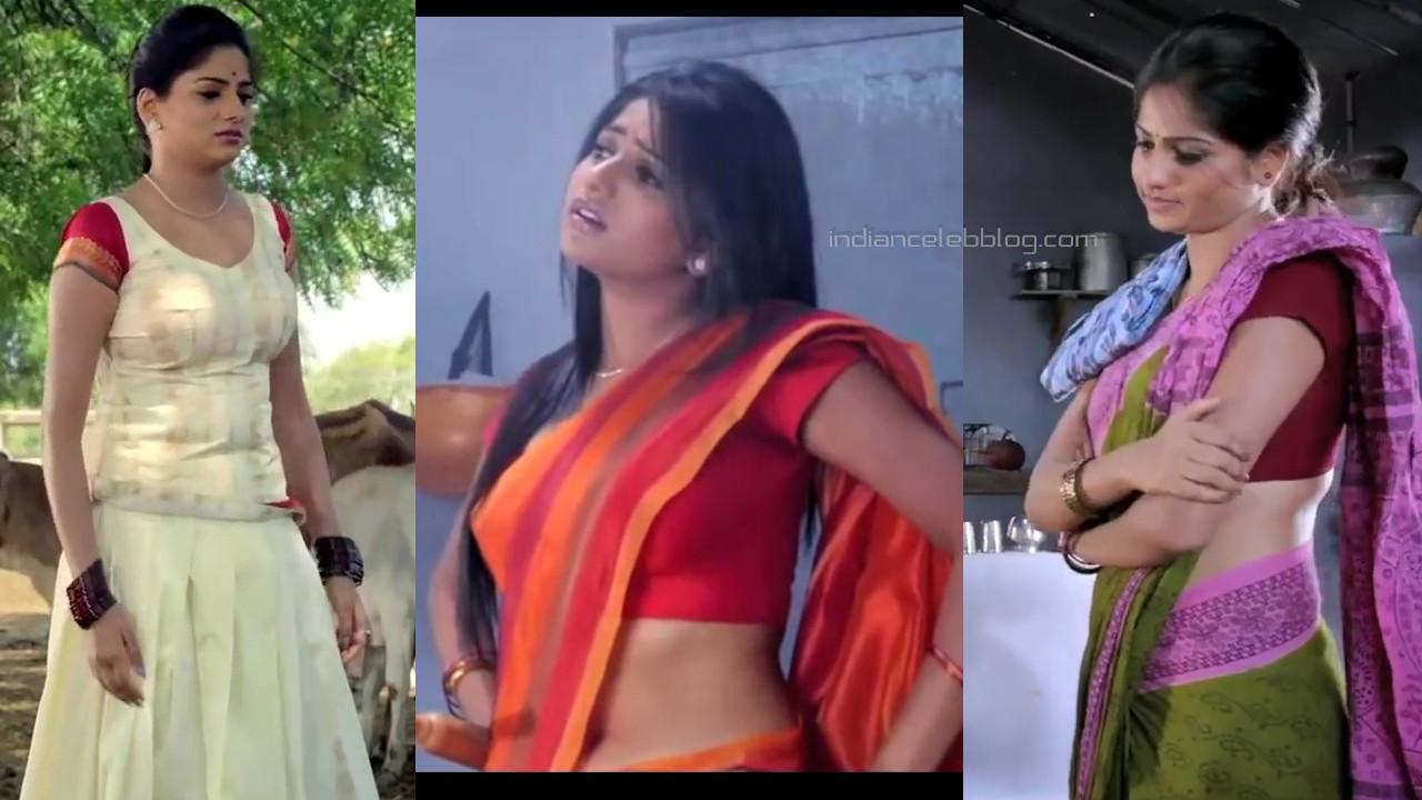 Rachita ram kannada actress hot saree langa voni pics HD caps