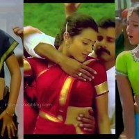 Trisha kollywood actress hot pics sexy navel show from Saamy caps