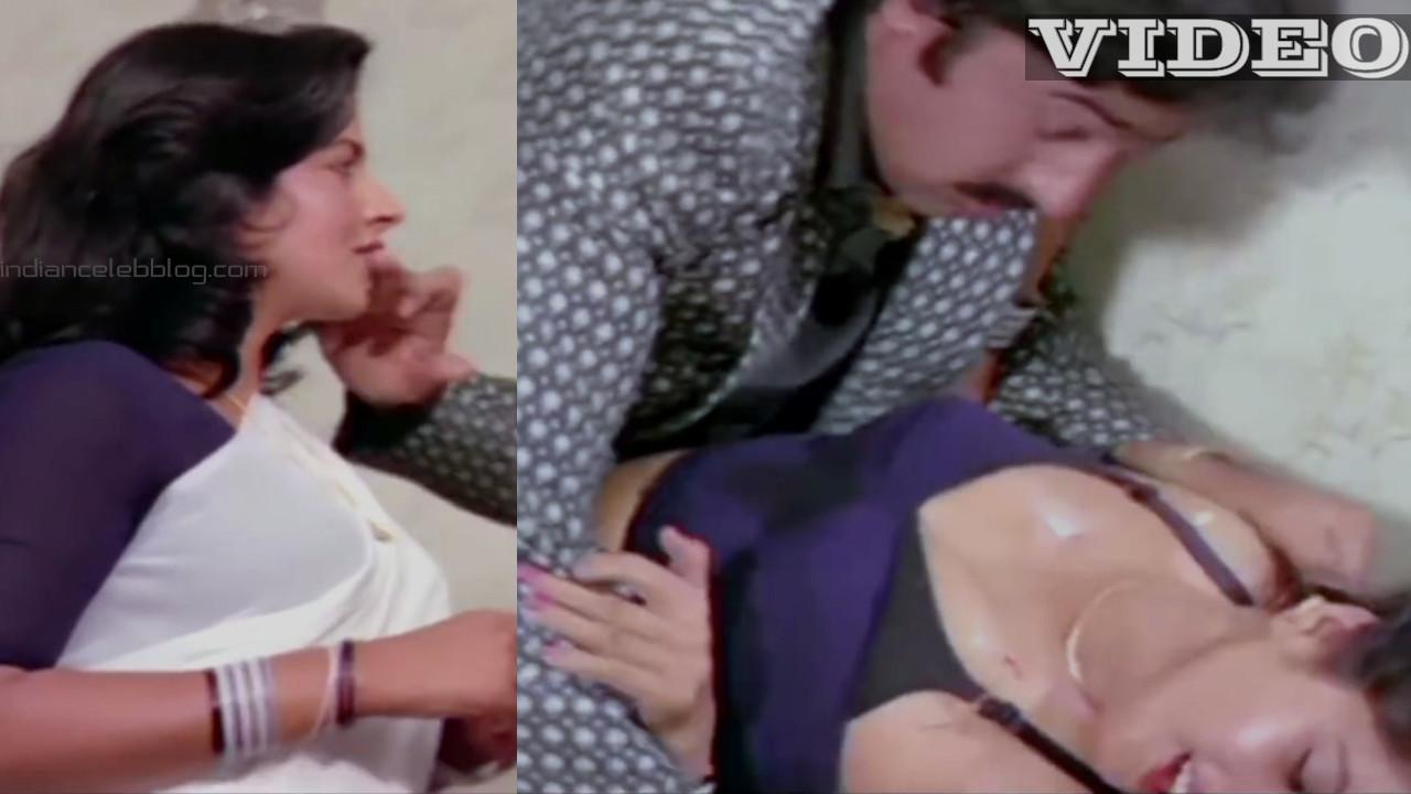 Hindi actress forced by villain bollywood saree scene video