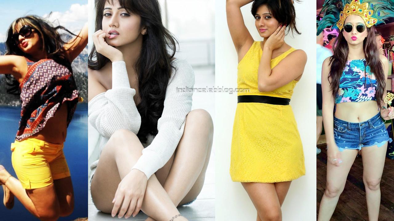 Harshika poonacha kannada actress hot social media photos