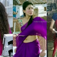 Sai Pallavi telugu movie hot saree midriff show hd caps pics