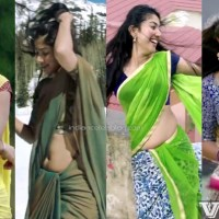 Sai pallavi telugu actress hot saree navel show Video mix