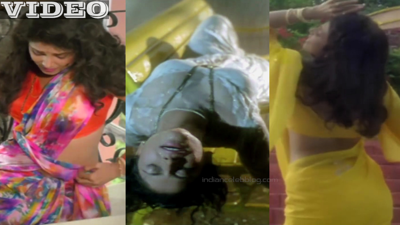 Varsha usgaonkar bollywood yesteryear actress hot saree Video mix