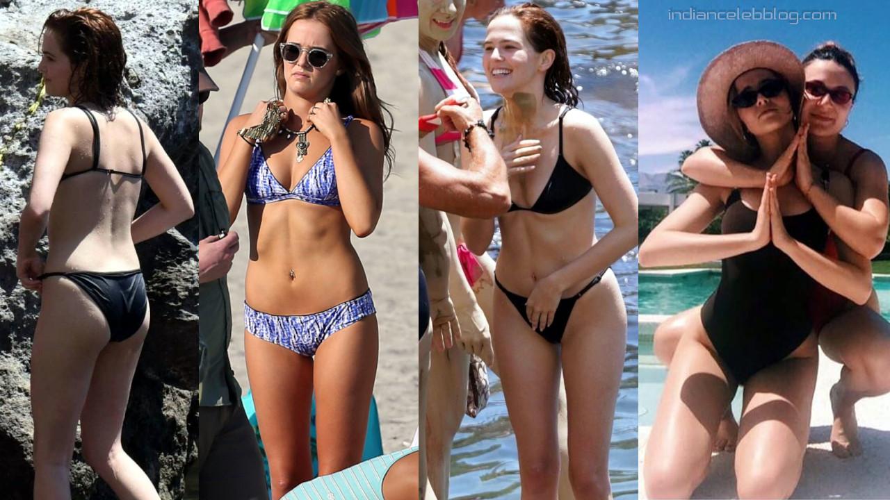 Zoey deutch american actress bikini candids and social media pics