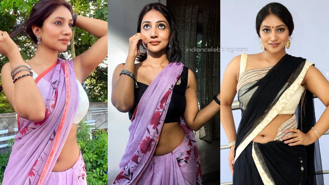 Bommu lakshmi tamil 90 ml film actress hot saree social media pics