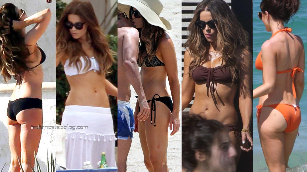 Kate beckinsale hot bikini beach candid paparazzi photos