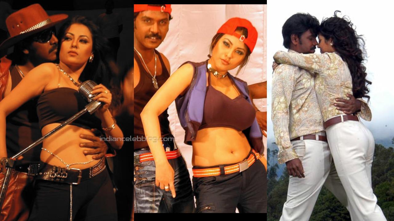 Meenakshi south indian tamil movie actress sexy navel show pics stills