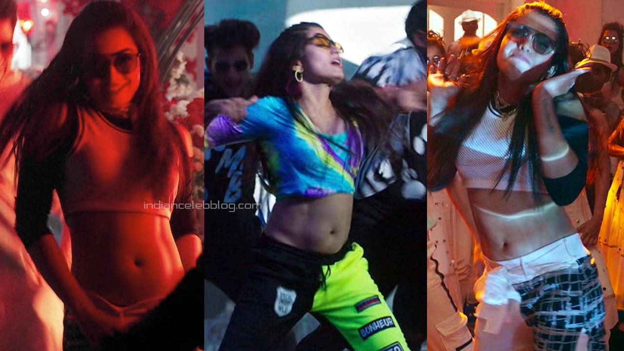 Rashmika mandanna sexy navel show hot telugu song pics hd caps
