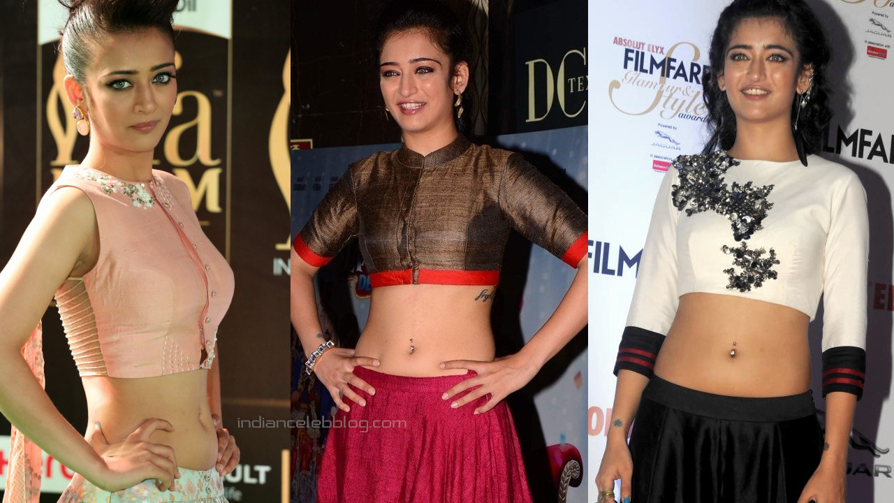 Akshara haasan indian actress hot pierced navel show event pics