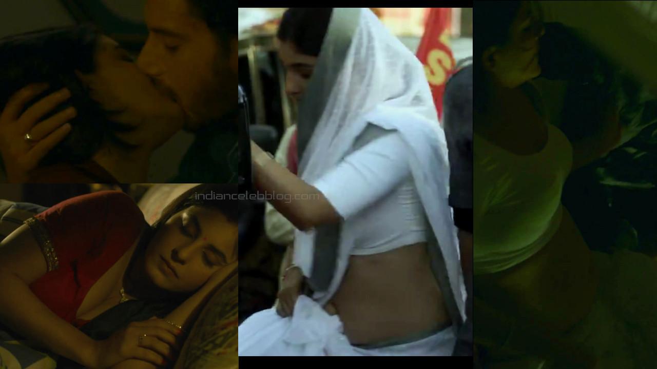 Isha talwar hindi film web series actress hot saree navel pics hd caps