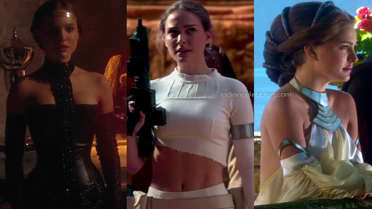 Natalie portman hot photos hd screencaps from Star wars