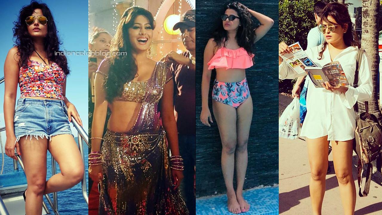 Nidhi subbaiah kannada actress sexy legs show social media photos