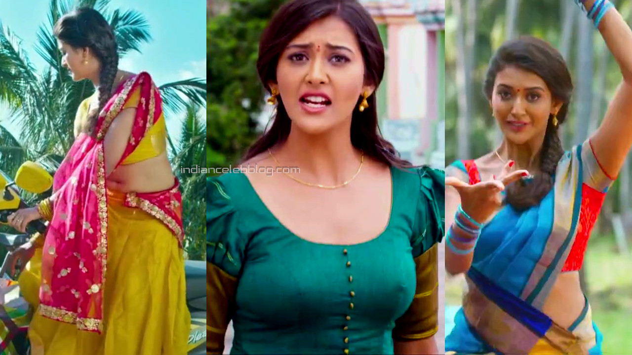 Pooja jhaveri telugu actress hot half saree hd caps pics