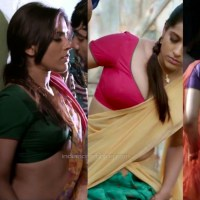 Rashmi gautam telugu actresss hot saree midriff show pics hd caps