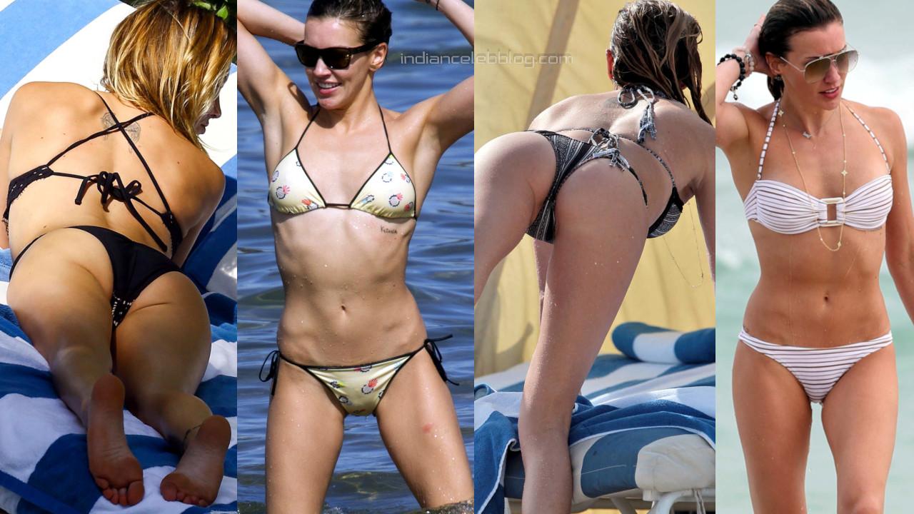 Katie cassidy hollywood hot bikini beach candid photos