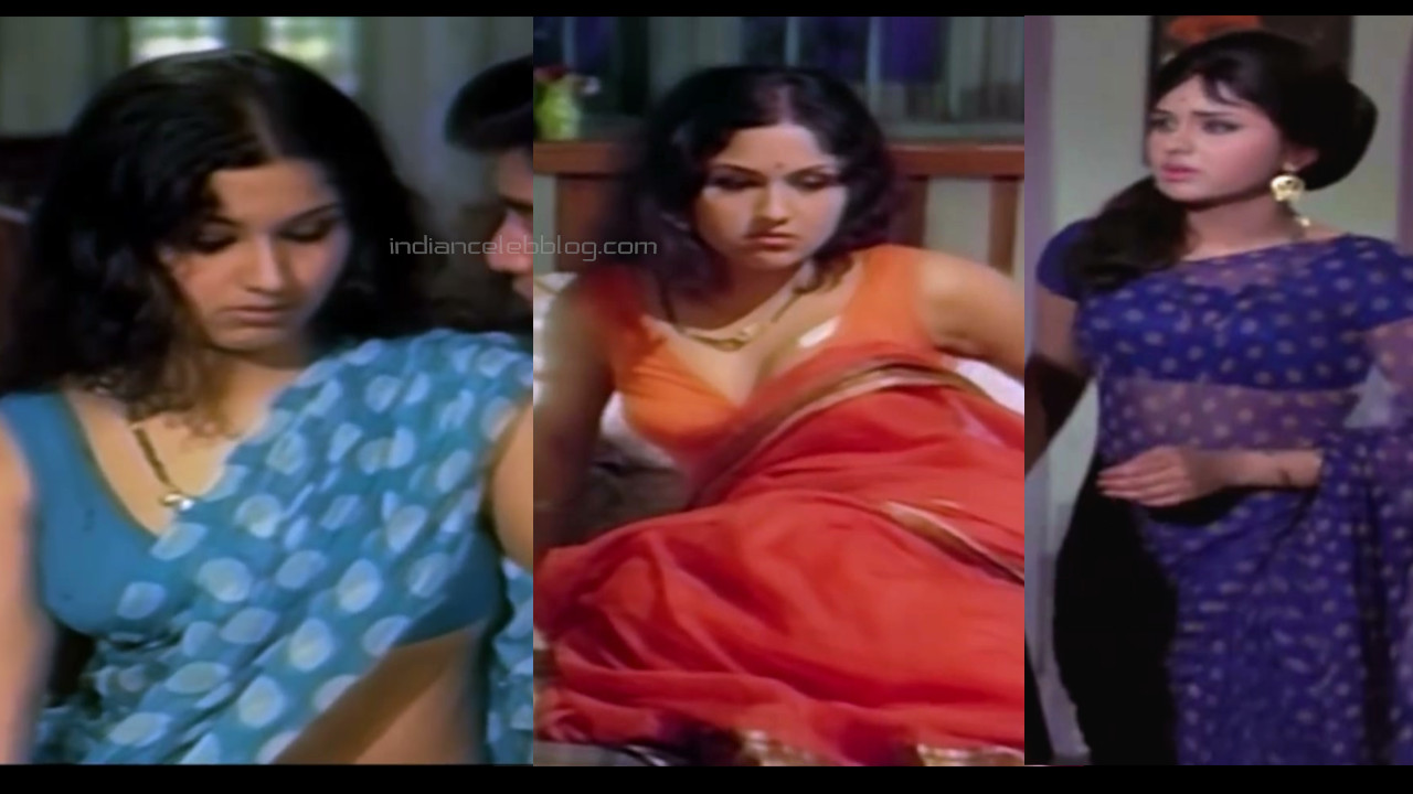 Leena chandavarkar bollywood old actress hot saree pics caps