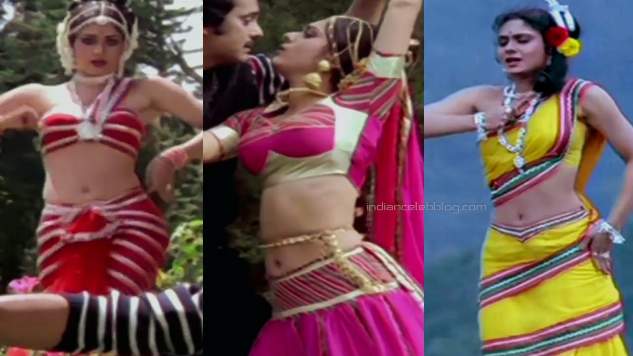 Meenakshi seshadri hindi yesteryear hot midriff show photos hd caps