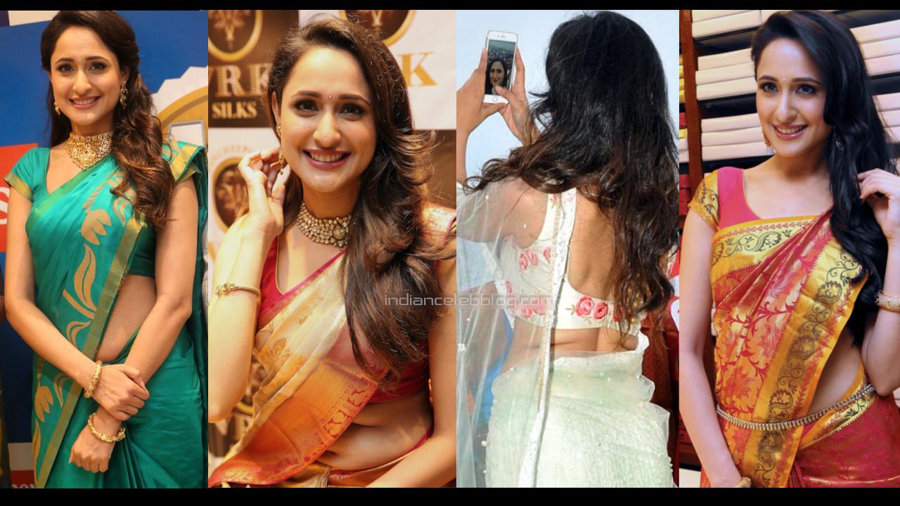 Pragya jaiswal telugu actress tollywood events hot saree pics