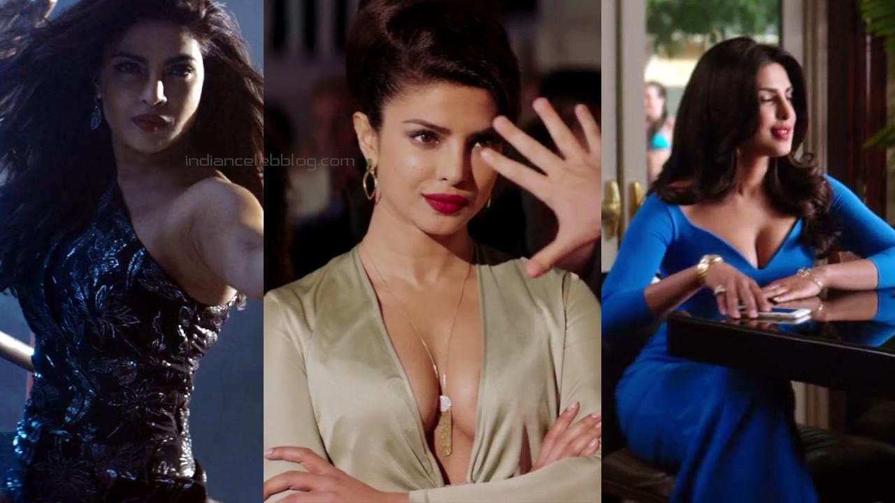 Priyanka chopra hollywood baywatch hot cleavage show screencaps