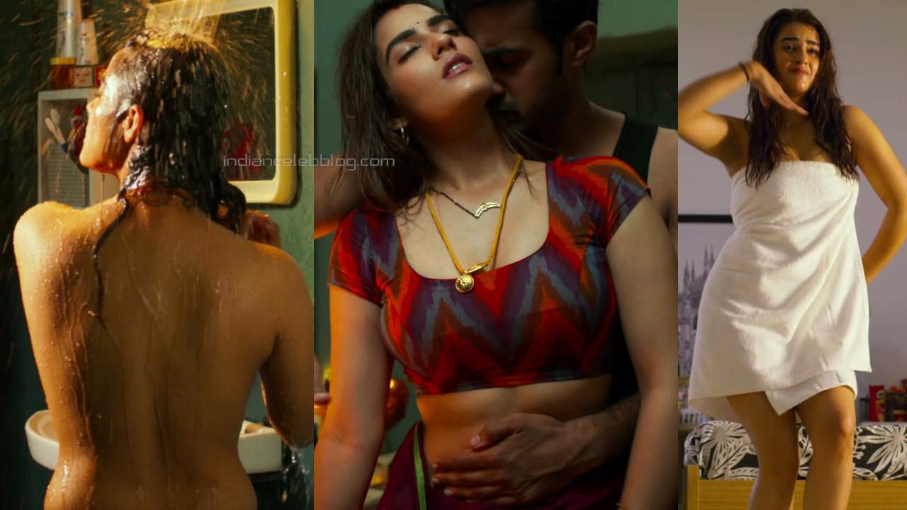 Kavya thapar telugu actress hot romance ek mini katha pics hd caps