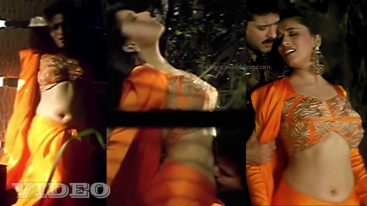 Madhuri dixit bollywood actress hot navel kiss clip hd caps