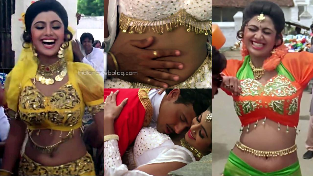 Shilpa shetty aag bollywood movie hot navel show pics hd caps