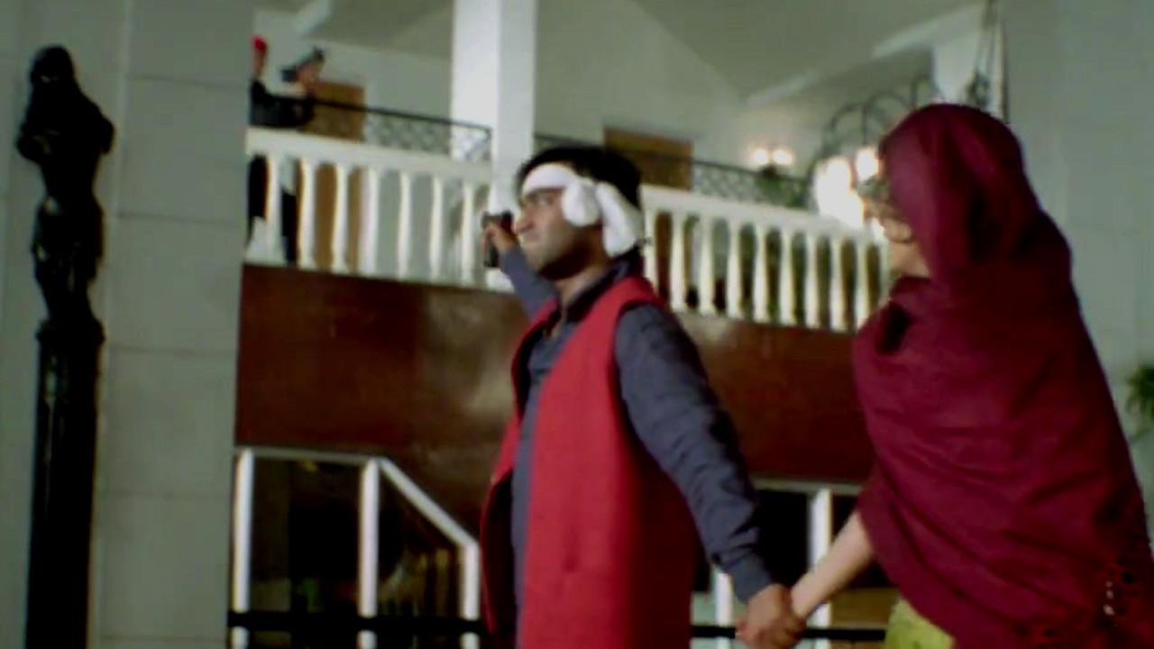 Ajay devgan effortless precision shooting bollywood action scene