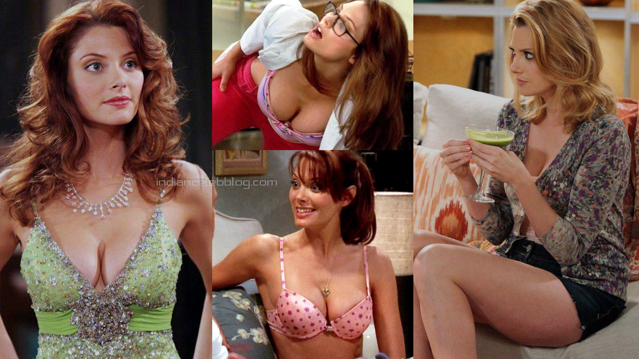 April bowlby Two and a half men actress sexy cleavage hd screencaps