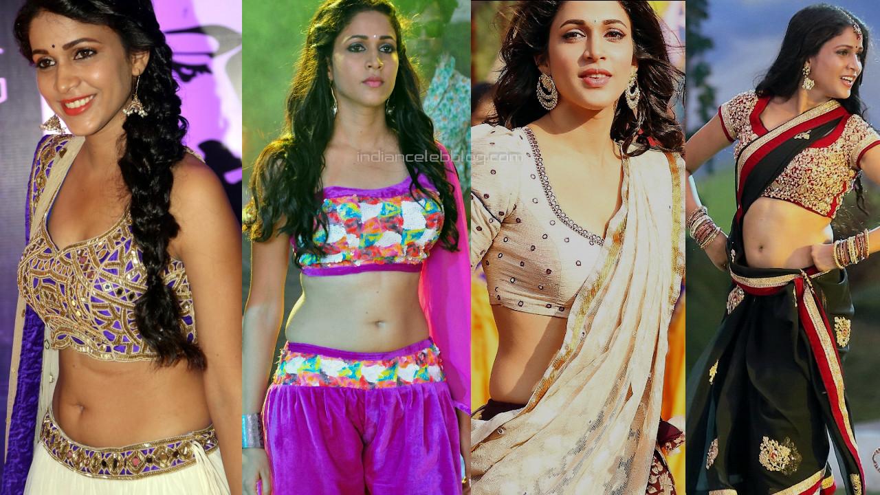 Lavanya tripathi telugu actress hot navel midriff in lehenga choli pics