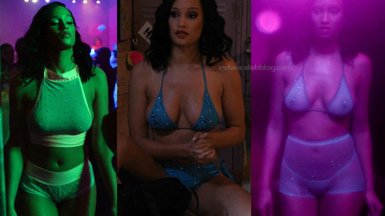 Elarica johnson british actress p valley hot panty photos screenshots
