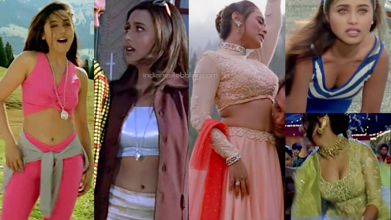 Rani mukerji badal hindi movie hot midriff photos hd caps