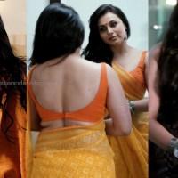 Rani mukherji bombay talkies sexy backless blouse saree stills hd caps