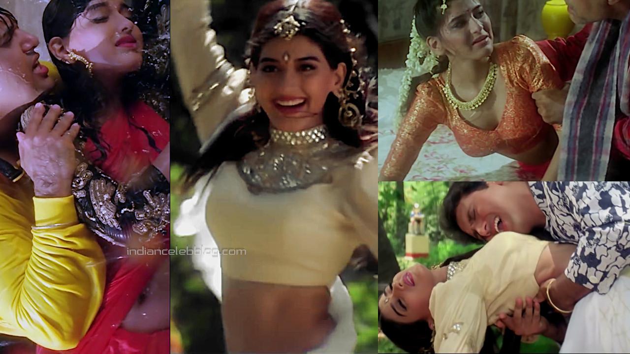 Sonali bendre aag hindi movie hot romance photos hd caps