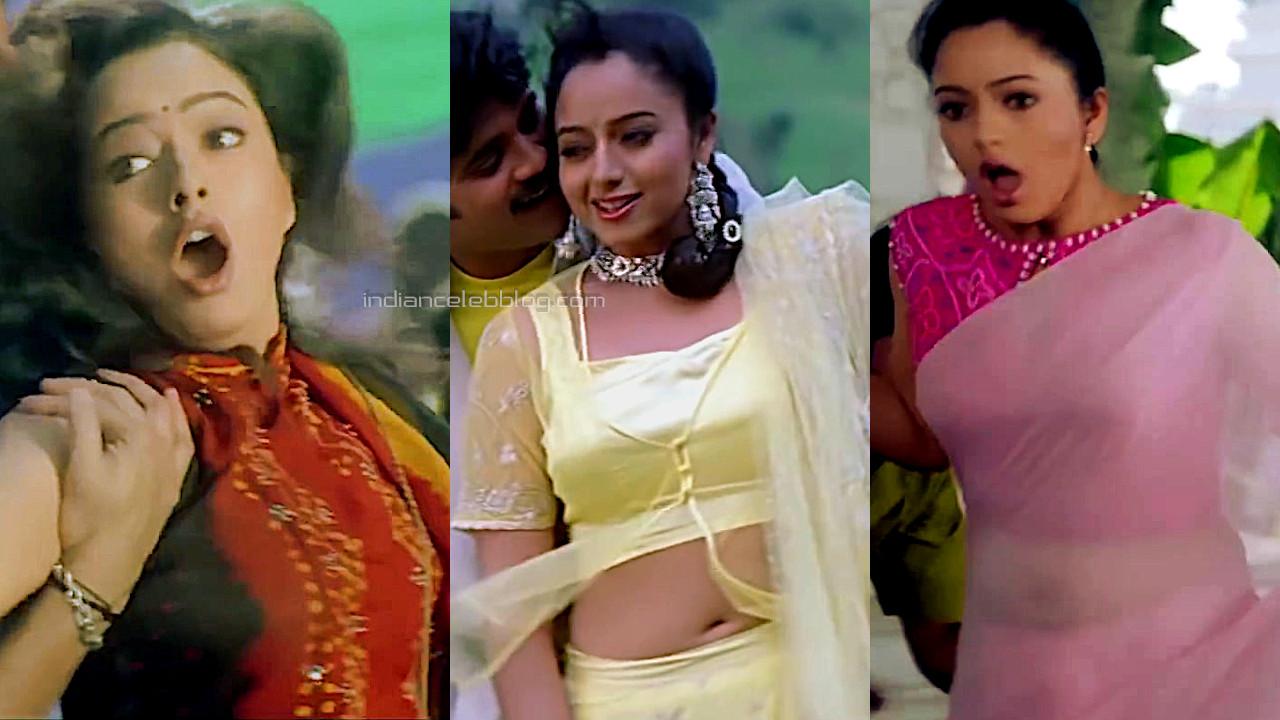 Soundarya azad telugu film hot sleeveless sari stills hd captures