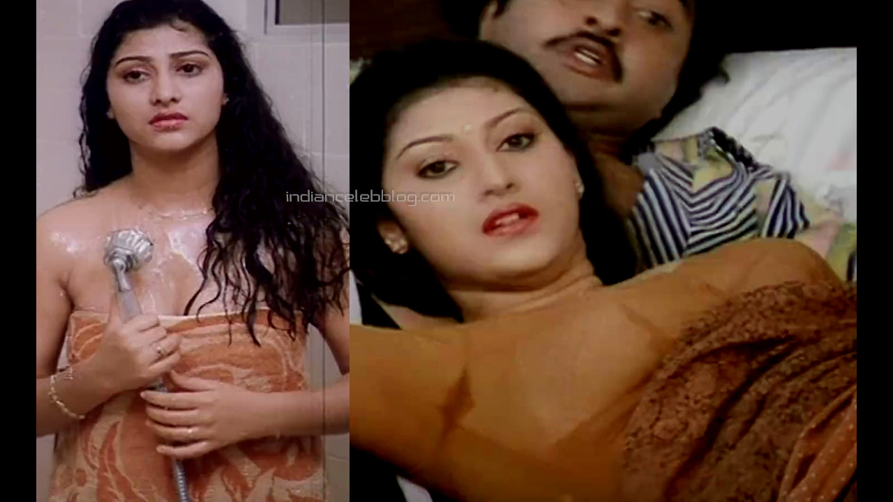 Malashri Ramudu bheemudu telugu movie hot saree photos caps